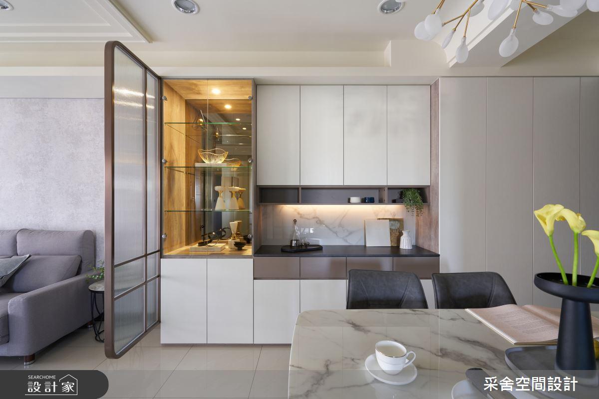 30坪新成屋(5年以下)_現代風案例圖片_采舍空間設計_采舍_15之4