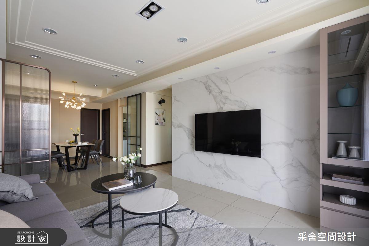 30坪新成屋(5年以下)_現代風案例圖片_采舍空間設計_采舍_15之8