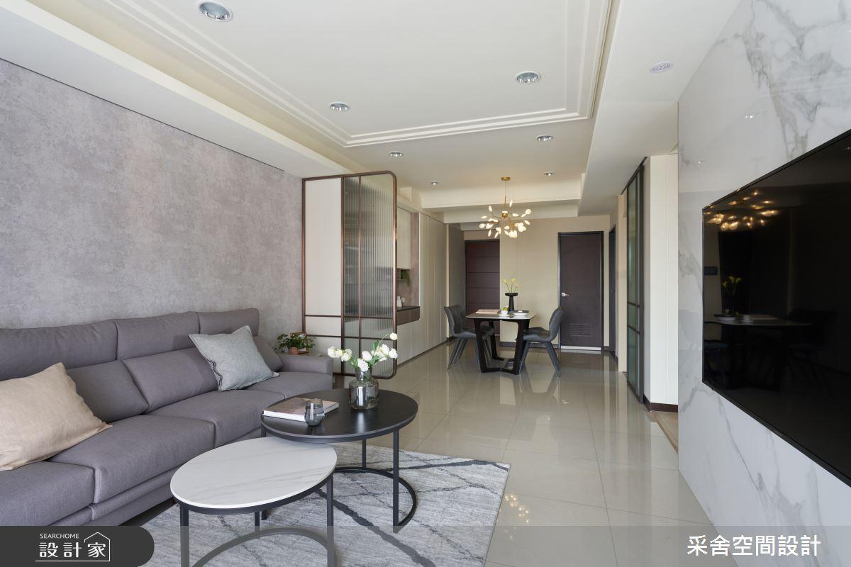30坪新成屋(5年以下)_現代風案例圖片_采舍空間設計_采舍_15之7