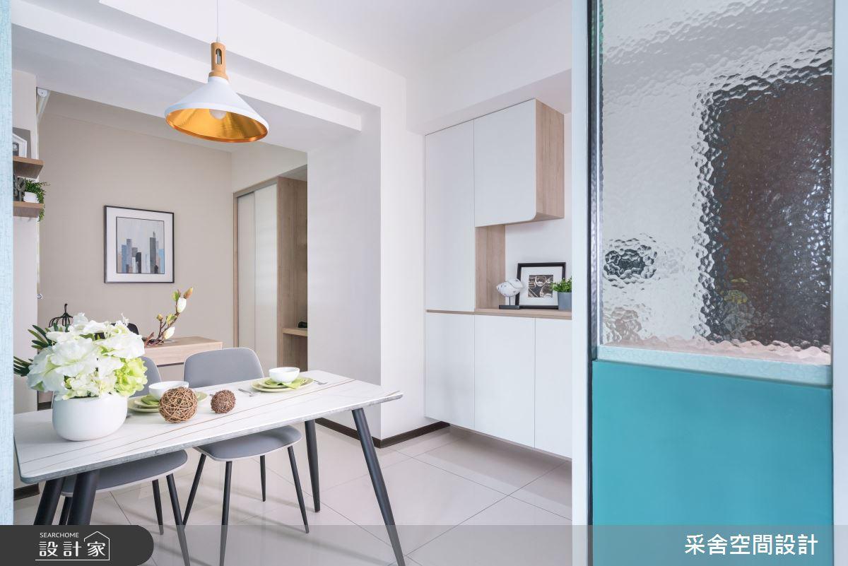 21坪新成屋(5年以下)_北歐風案例圖片_采舍空間設計_采舍_16之3