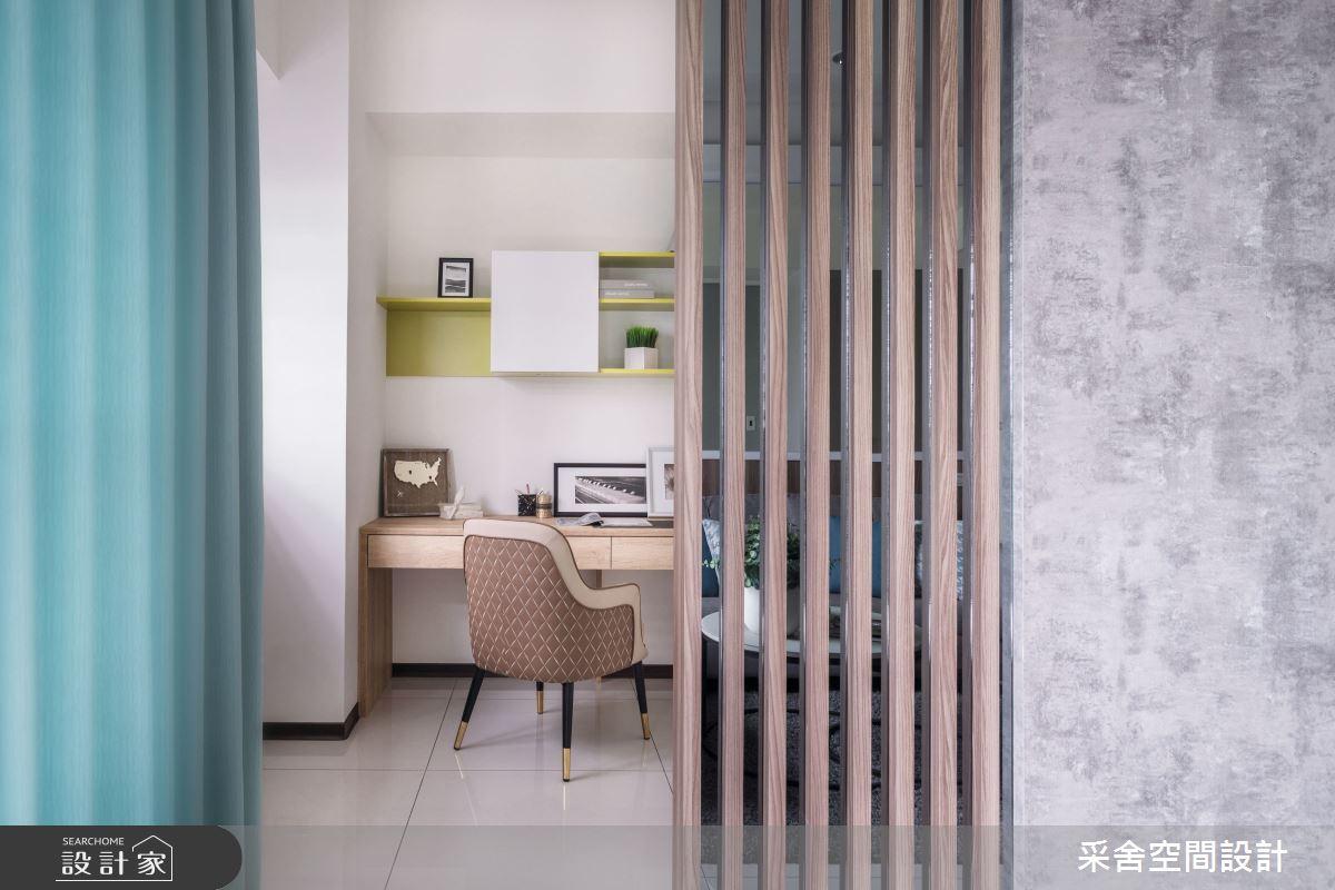 21坪新成屋(5年以下)_北歐風案例圖片_采舍空間設計_采舍_16之9
