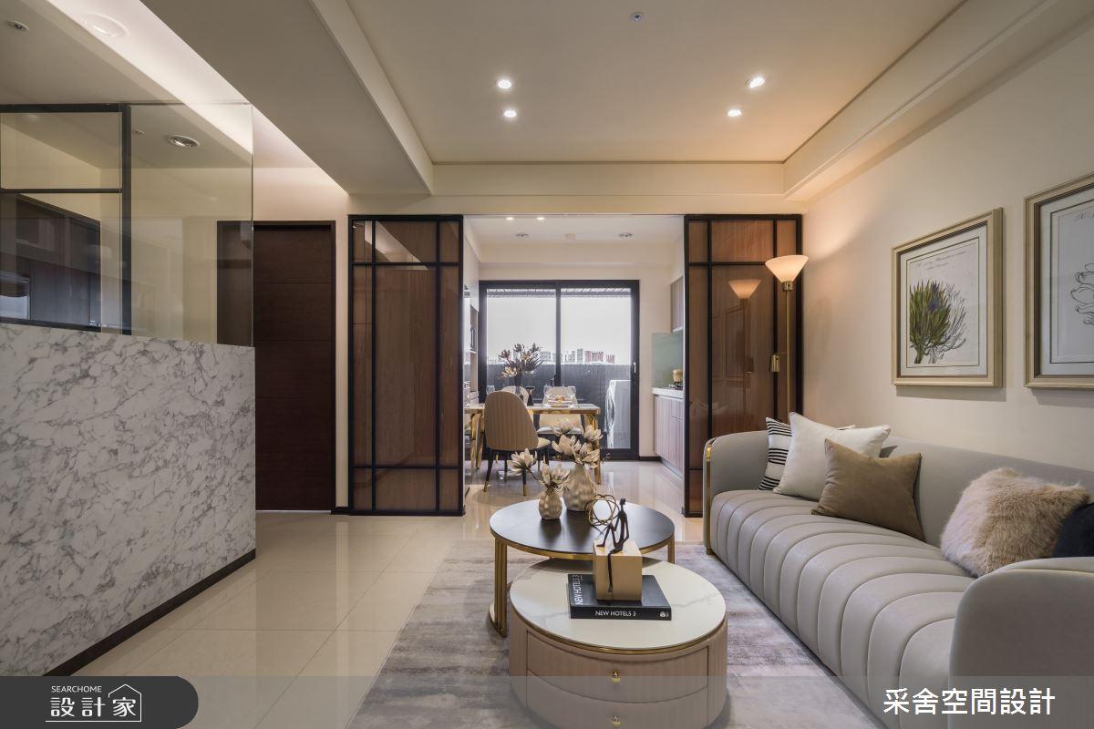 22坪新成屋(5年以下)_現代風案例圖片_采舍空間設計_采舍_17之3