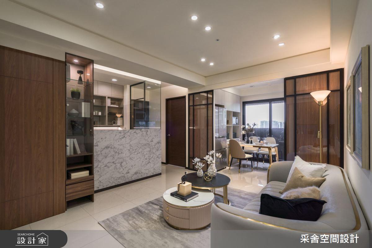 22坪新成屋(5年以下)_現代風案例圖片_采舍空間設計_采舍_17之2