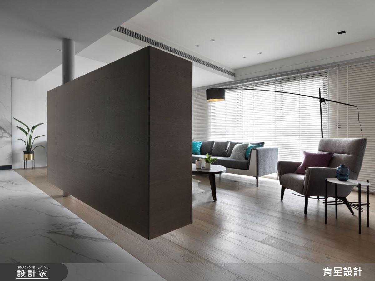 45坪新成屋(5年以下)_現代風客廳案例圖片_肯星設計_肯星_05之2