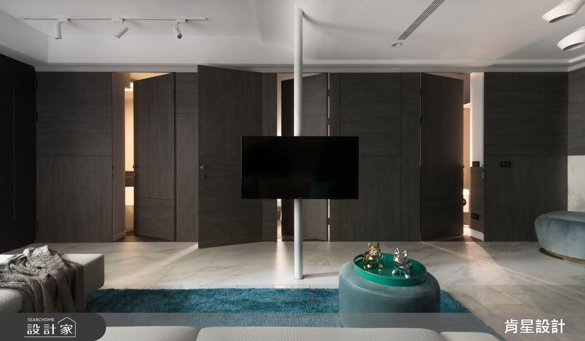 70坪老屋(41~50年)_混搭風客廳浴室案例圖片_肯星設計_肯星_06之1