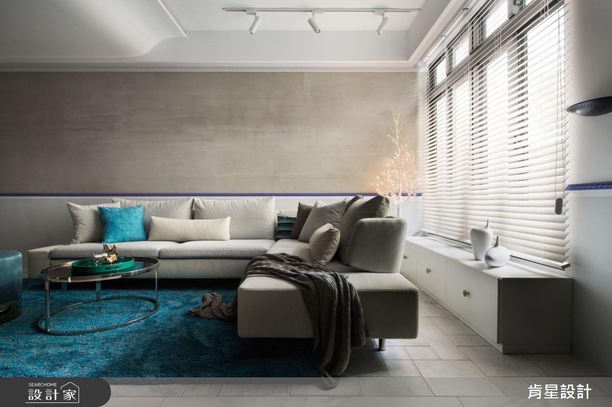 70坪老屋(41~50年)_混搭風客廳浴室案例圖片_肯星設計_肯星_06之3