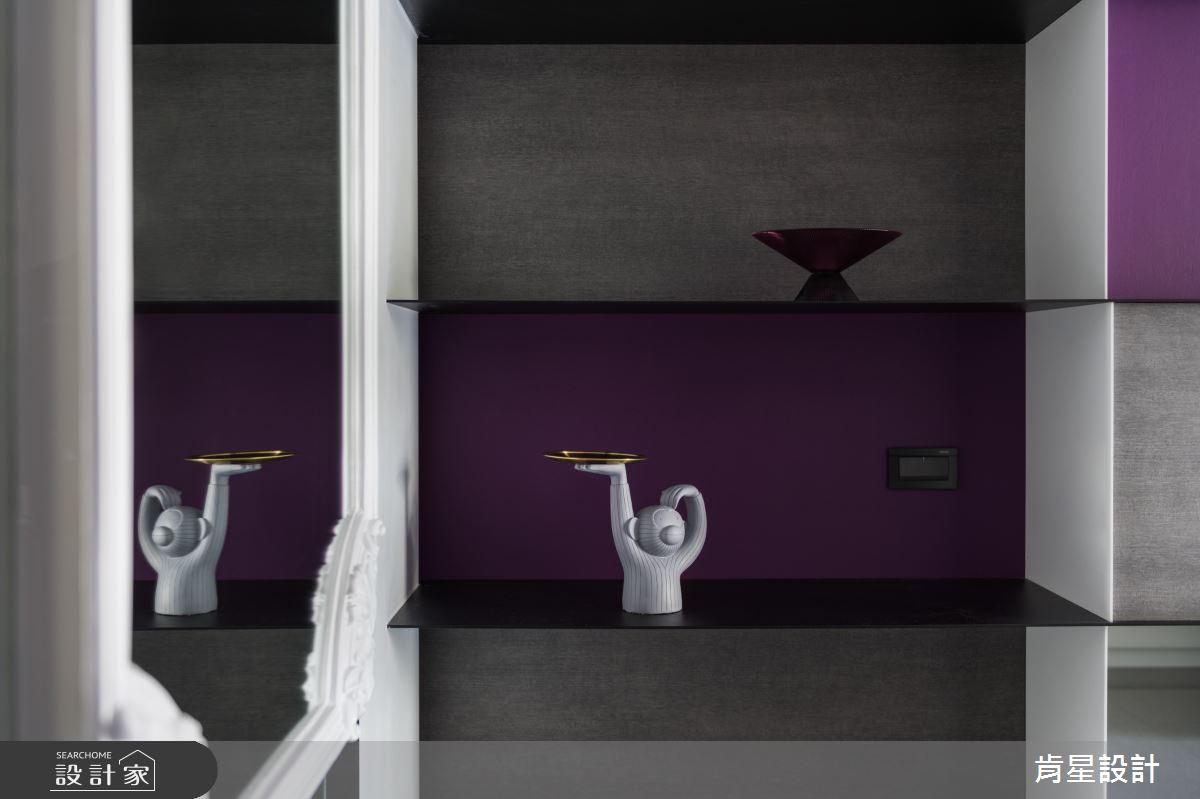 75坪新成屋(5年以下)_新古典玄關案例圖片_肯星設計_肯星_08之4