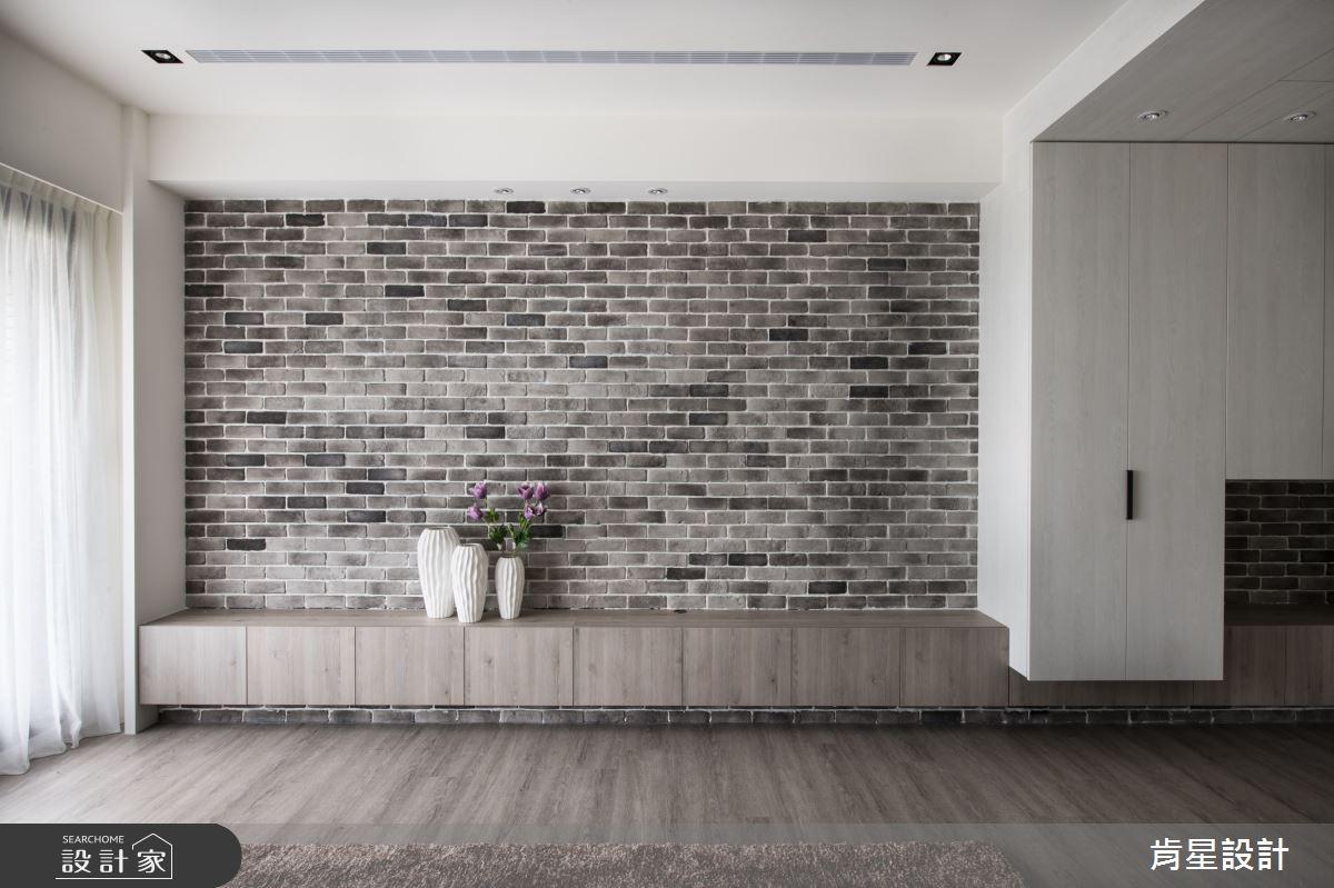 29坪新成屋(5年以下)_鄉村風客廳案例圖片_肯星設計_肯星_09之4