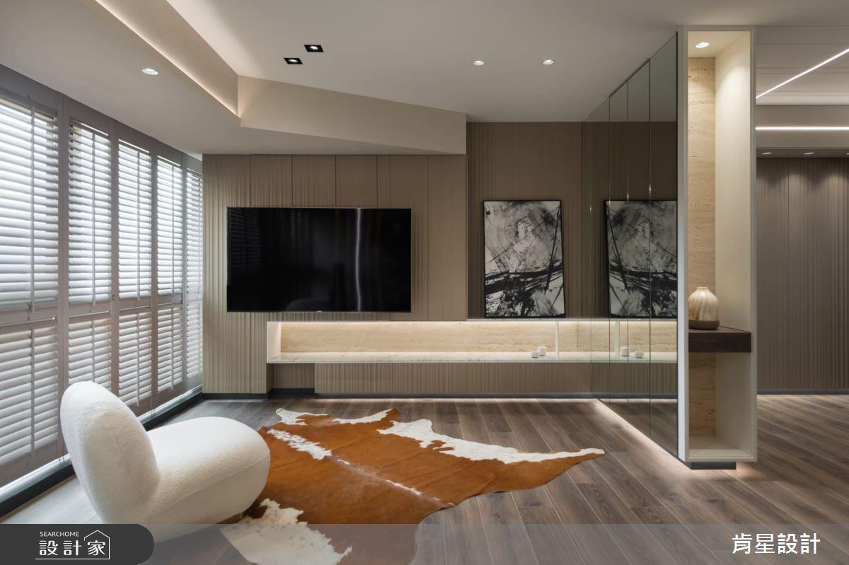 26坪新成屋(5年以下)_現代風客廳案例圖片_肯星設計_肯星_12之4