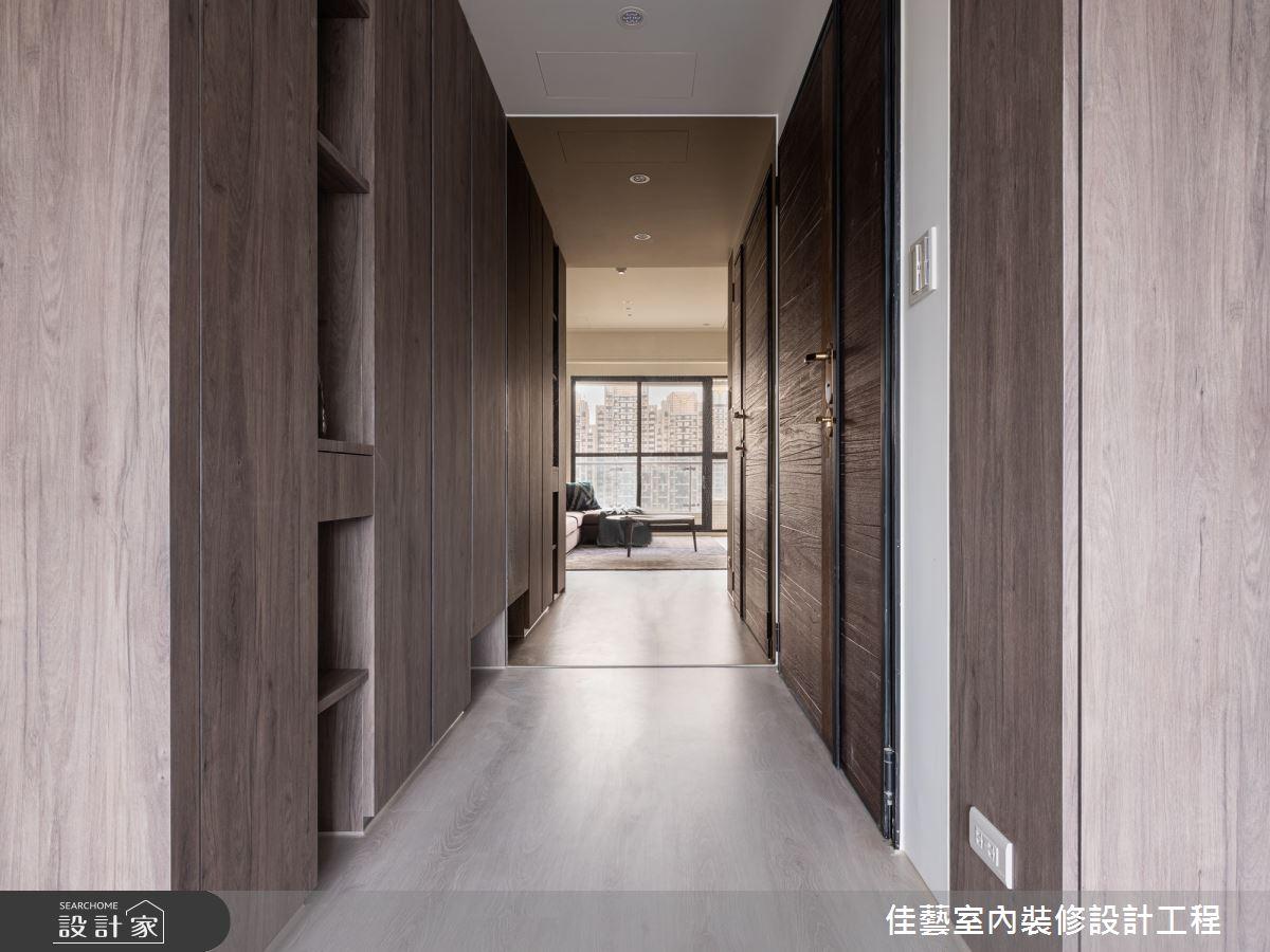 30坪新成屋(5年以下)_現代風客廳案例圖片_佳藝室內裝修設計工程有限公司_佳藝_01之3