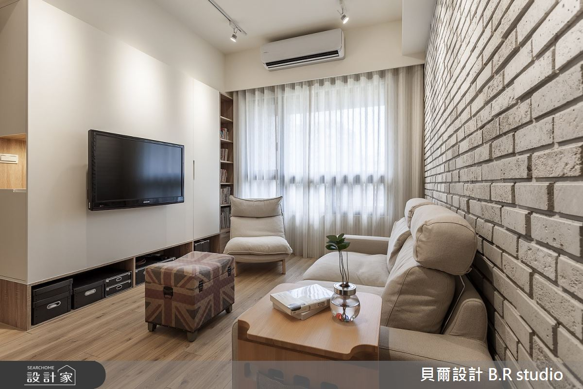 新成屋(5年以下)_日式無印風客廳案例圖片_貝爾設計 B.R studio_貝爾_01之2