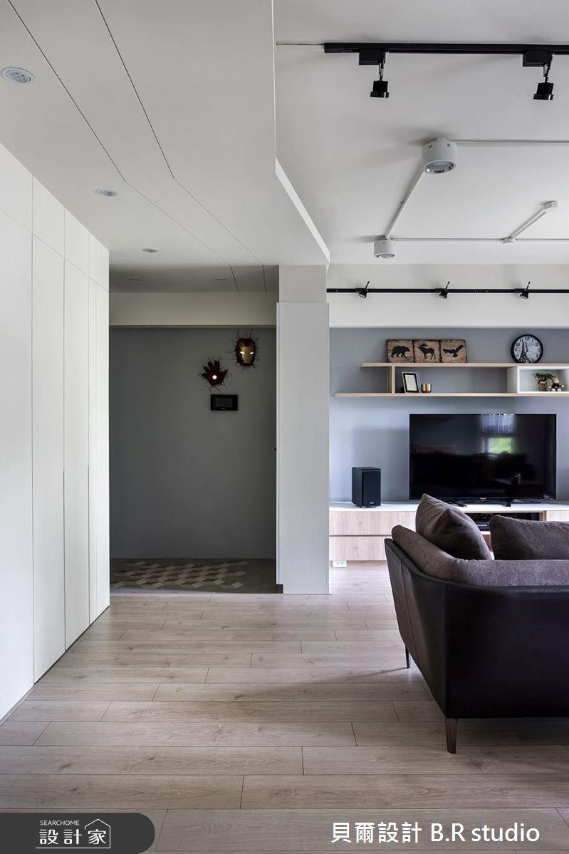 26坪新成屋(5年以下)_北歐風玄關案例圖片_貝爾設計 B.R studio_貝爾_04之3