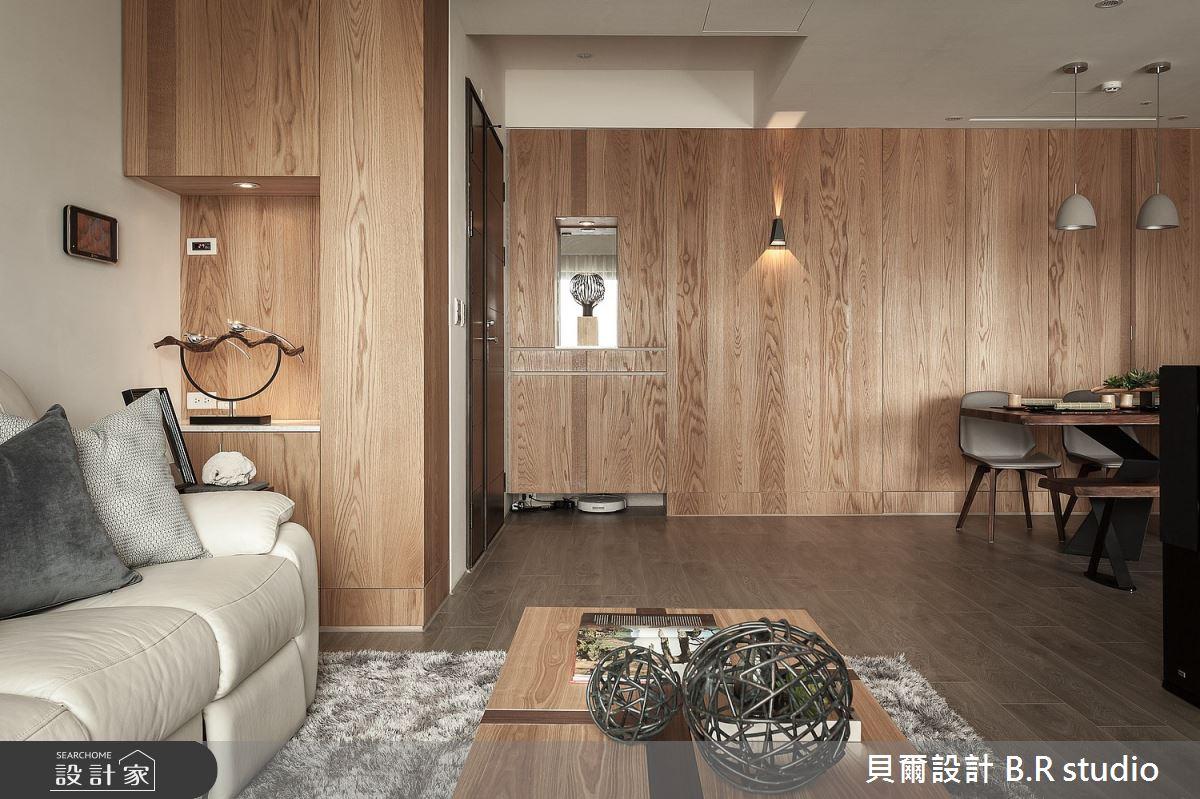 34坪新成屋(5年以下)_現代風玄關案例圖片_貝爾設計 B.R studio_貝爾_08之1