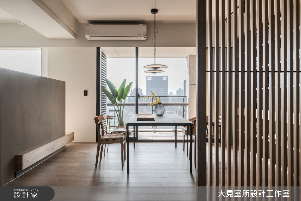 48坪新成屋(5年以下)_日式無印風書房案例圖片_大見室所設計工作室_大見室所_03之6