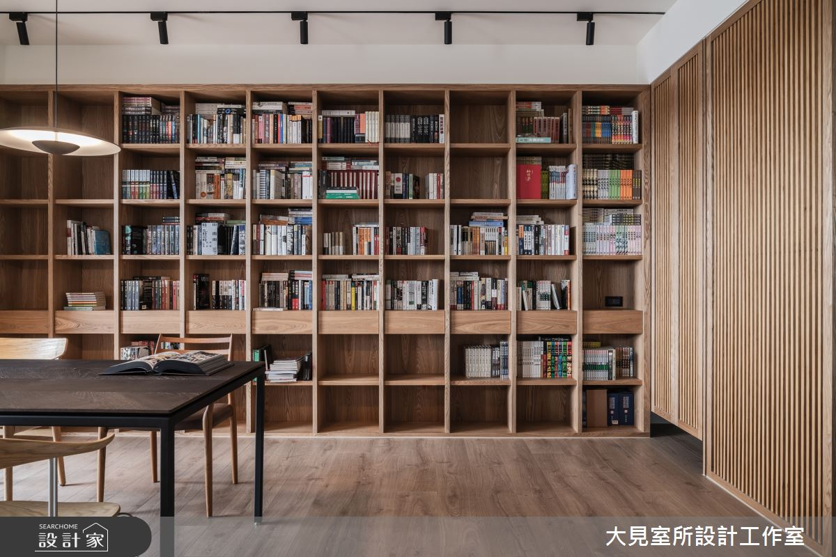 48坪新成屋(5年以下)_日式無印風書房案例圖片_大見室所設計工作室_大見室所_03之9