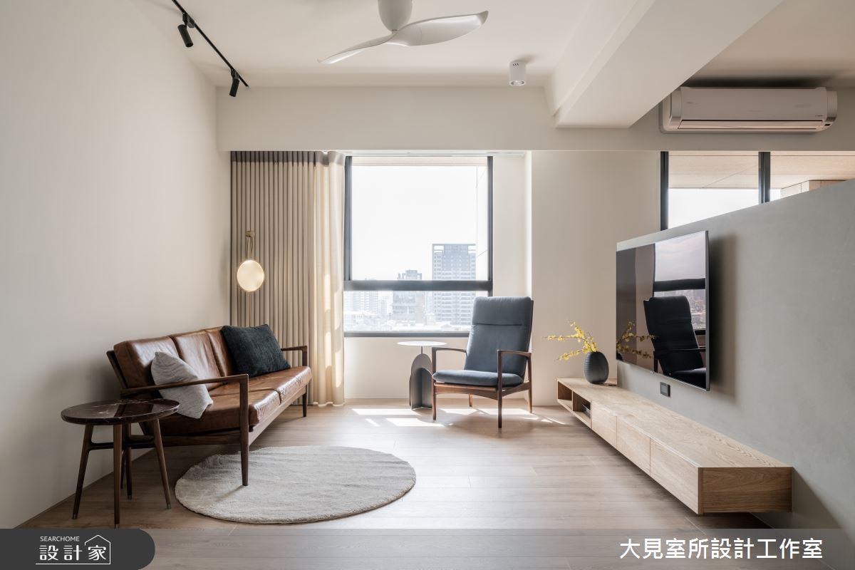 48坪新成屋(5年以下)_日式無印風案例圖片_大見室所設計工作室_大見室所_03之12