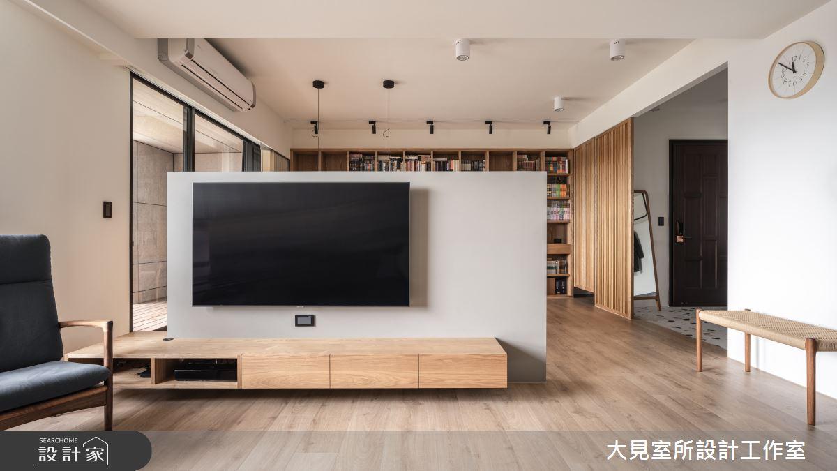 48坪新成屋(5年以下)_日式無印風案例圖片_大見室所設計工作室_大見室所_03之3