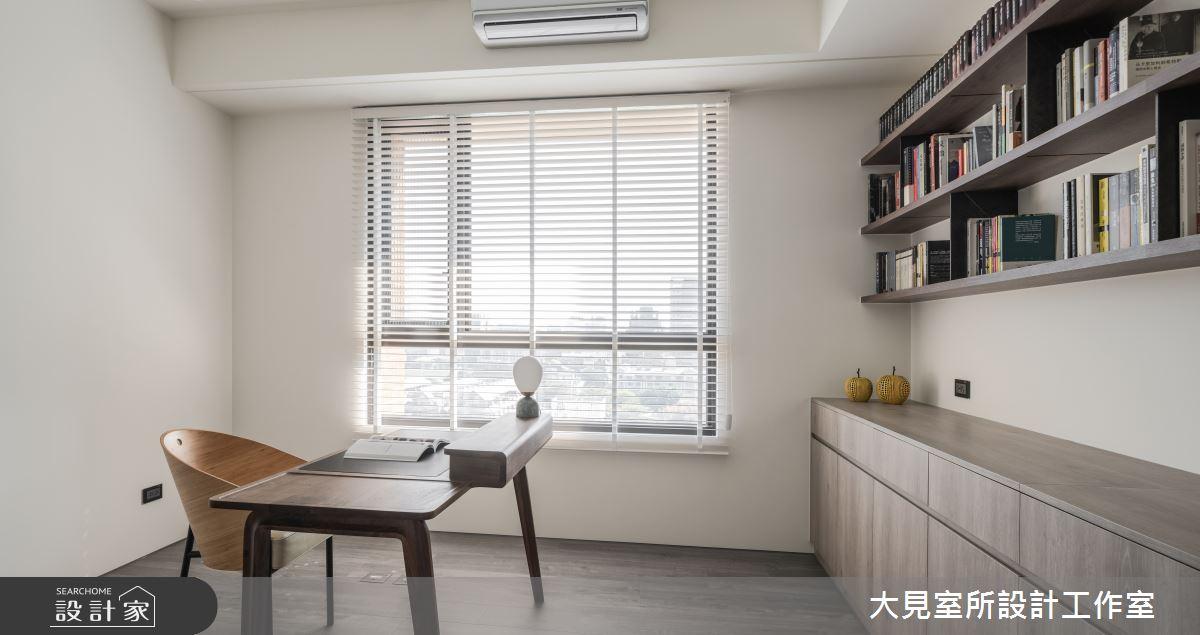 48坪新成屋(5年以下)_日式無印風書房案例圖片_大見室所設計工作室_大見室所_03之15