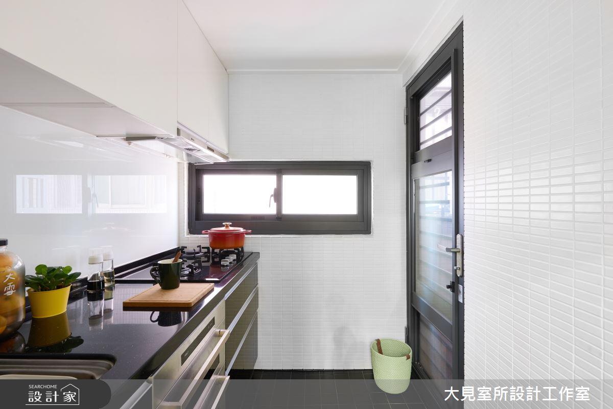 21坪老屋(16~30年)_混搭風廚房案例圖片_大見室所設計工作室_大見室所_04之6