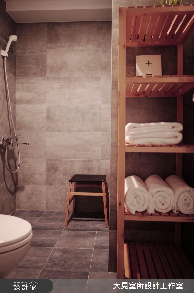 21坪老屋(16~30年)_混搭風浴室案例圖片_大見室所設計工作室_大見室所_04之8