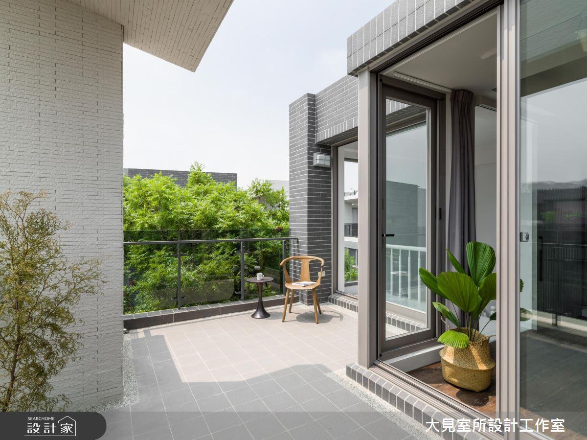 45坪新成屋(5年以下)_北歐風陽台案例圖片_大見室所設計工作室_大見室所_05之2
