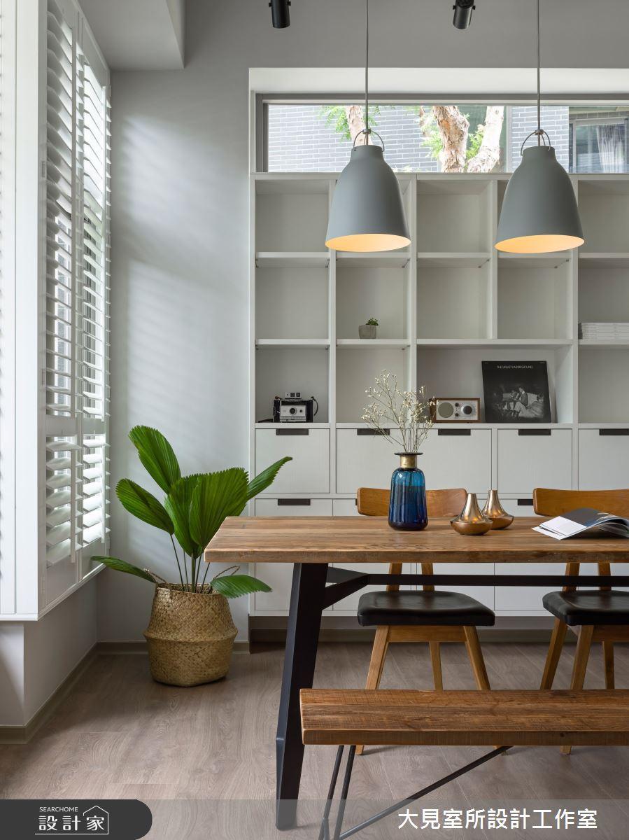 45坪新成屋(5年以下)_北歐風餐廳案例圖片_大見室所設計工作室_大見室所_05之4