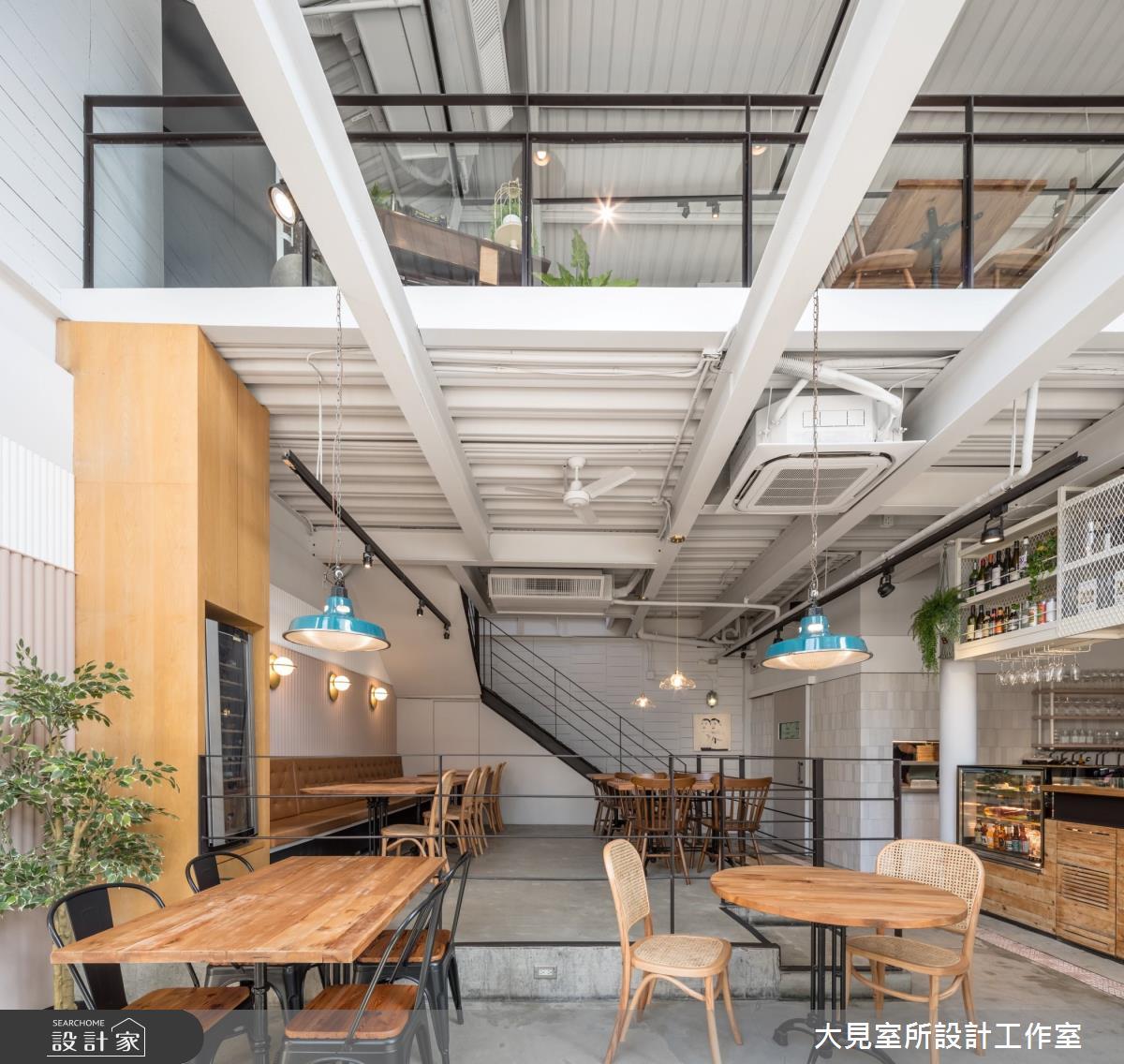 60坪老屋(16~30年)_北歐風商業空間案例圖片_大見室所設計工作室_大見室所_09之2