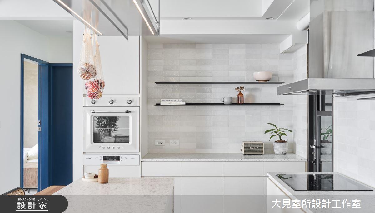 20坪新成屋(5年以下)_簡約風廚房案例圖片_大見室所設計工作室_大見室所_16之11