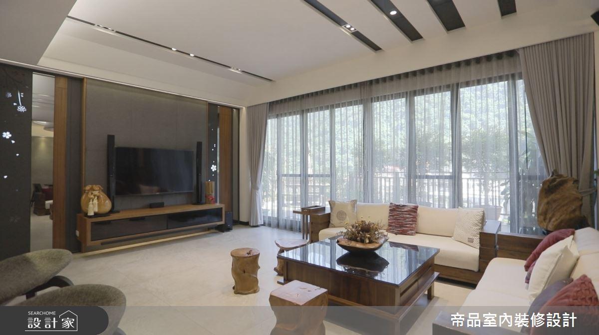 120坪新成屋(5年以下)_現代風客廳案例圖片_帝品室內裝修設計有限公司_帝品_01之76