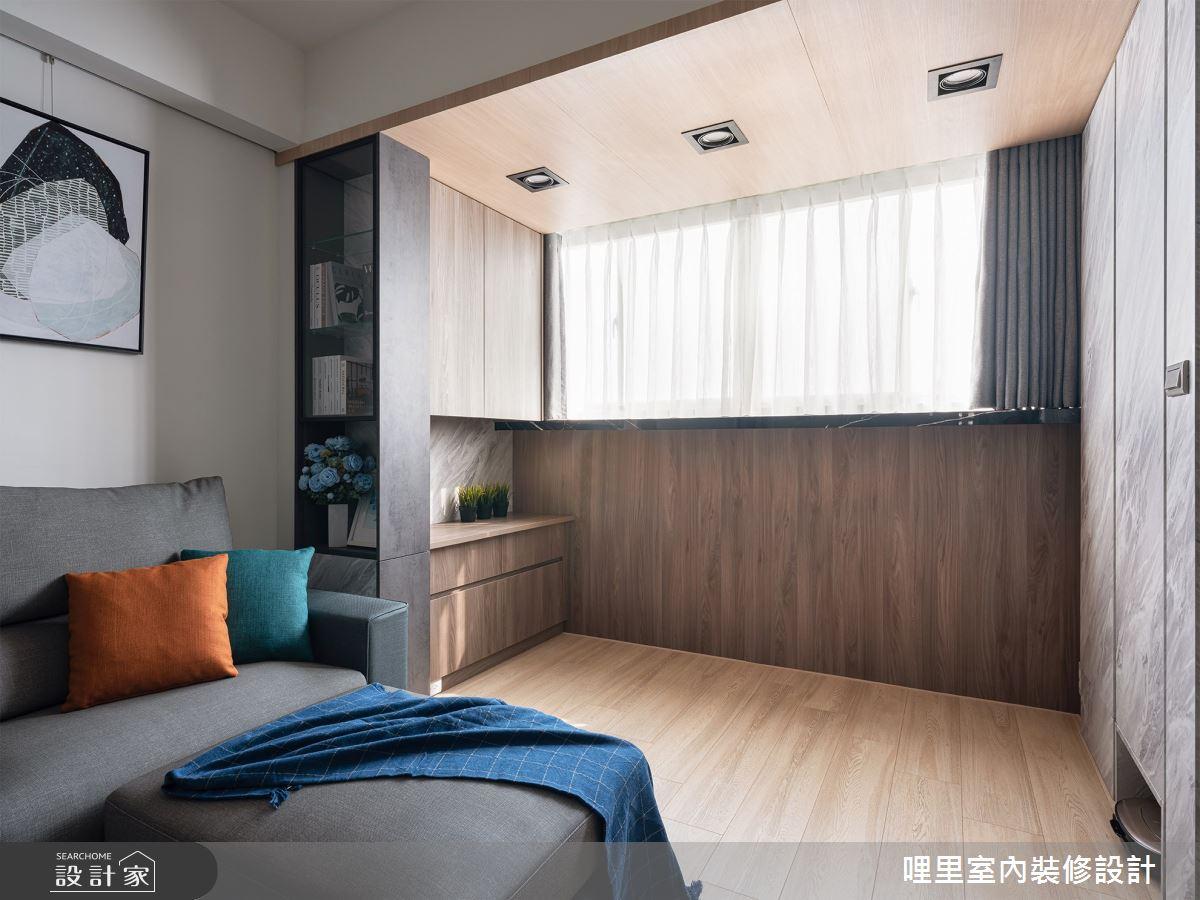 25坪老屋(16~30年)_北歐風客廳案例圖片_哩里室內裝修設計有限公司_哩里_02之4