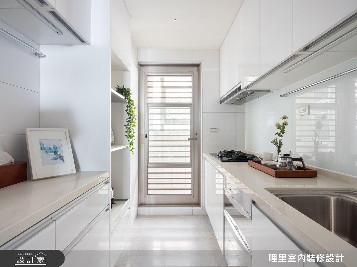 25坪老屋(16~30年)_北歐風廚房案例圖片_哩里室內裝修設計有限公司_哩里_02之15