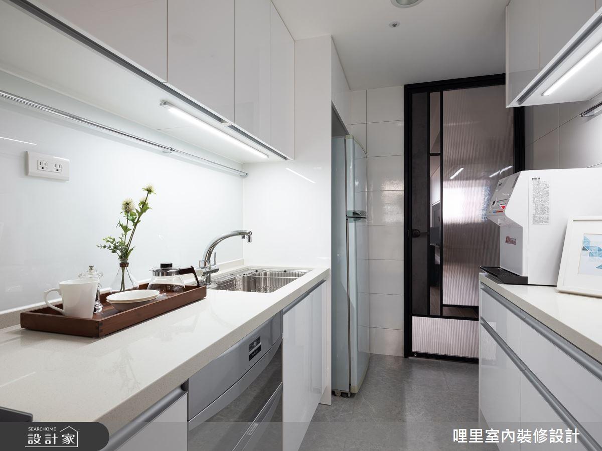 25坪老屋(16~30年)_北歐風廚房案例圖片_哩里室內裝修設計有限公司_哩里_02之16