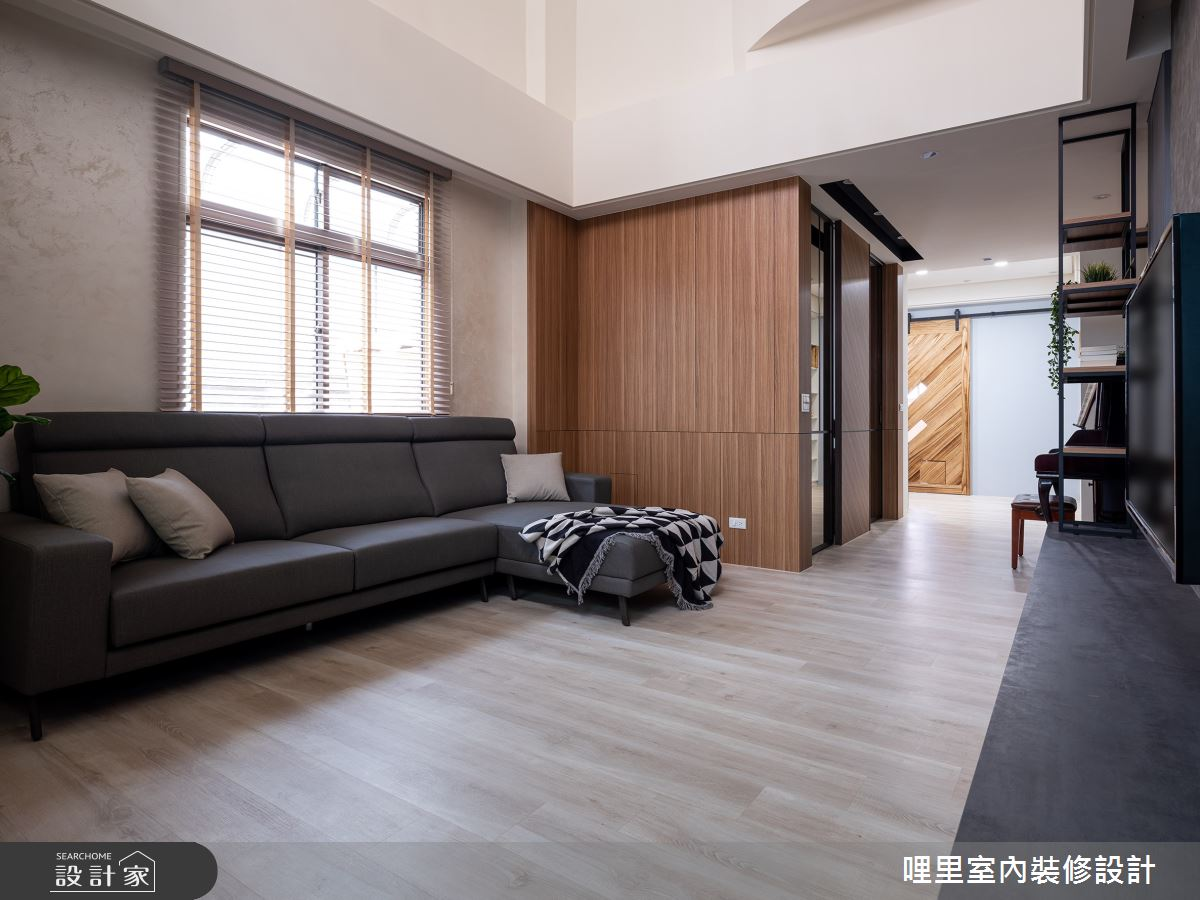 50坪老屋(16~30年)_鄉村風客廳案例圖片_哩里室內裝修設計有限公司_哩里_03之2