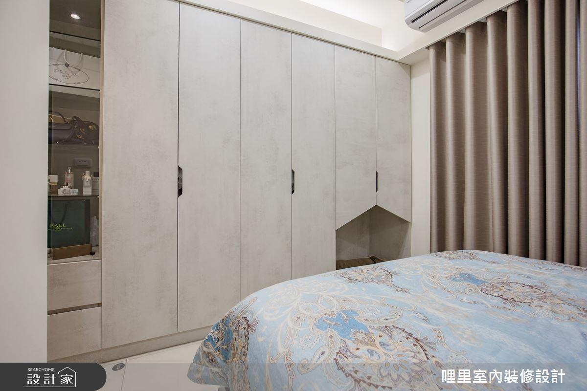 16坪預售屋_簡約風臥室案例圖片_哩里室內裝修設計有限公司_哩里_04之12