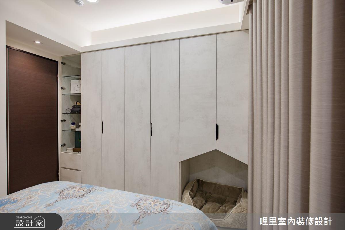 16坪預售屋_簡約風臥室案例圖片_哩里室內裝修設計有限公司_哩里_04之13
