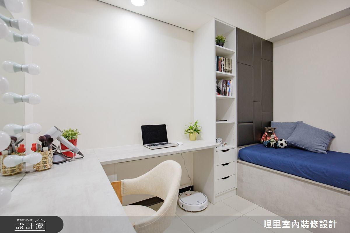 16坪預售屋_簡約風書房臥榻客房案例圖片_哩里室內裝修設計有限公司_哩里_04之8