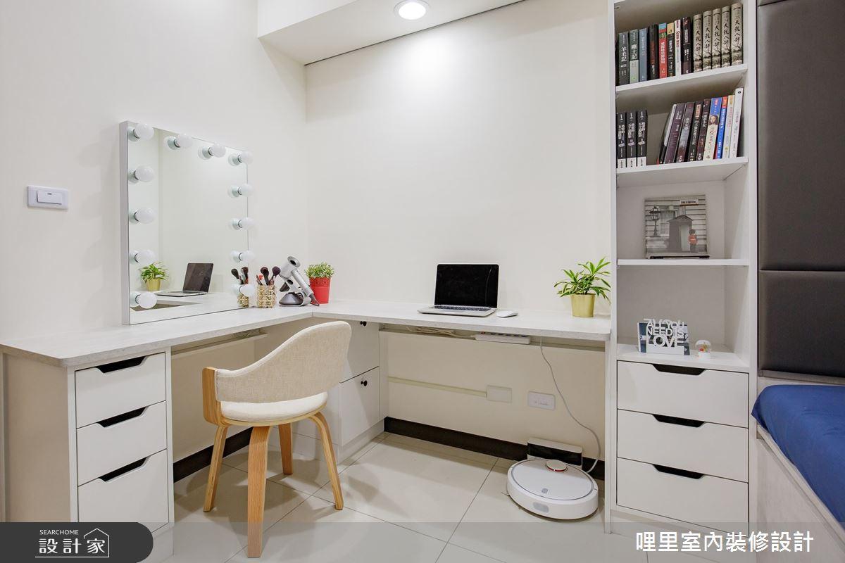 16坪預售屋_簡約風書房客房案例圖片_哩里室內裝修設計有限公司_哩里_04之9
