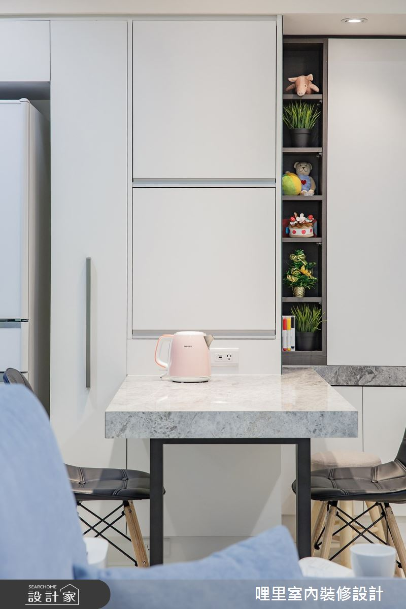 16坪預售屋_簡約風餐廳案例圖片_哩里室內裝修設計有限公司_哩里_04之6