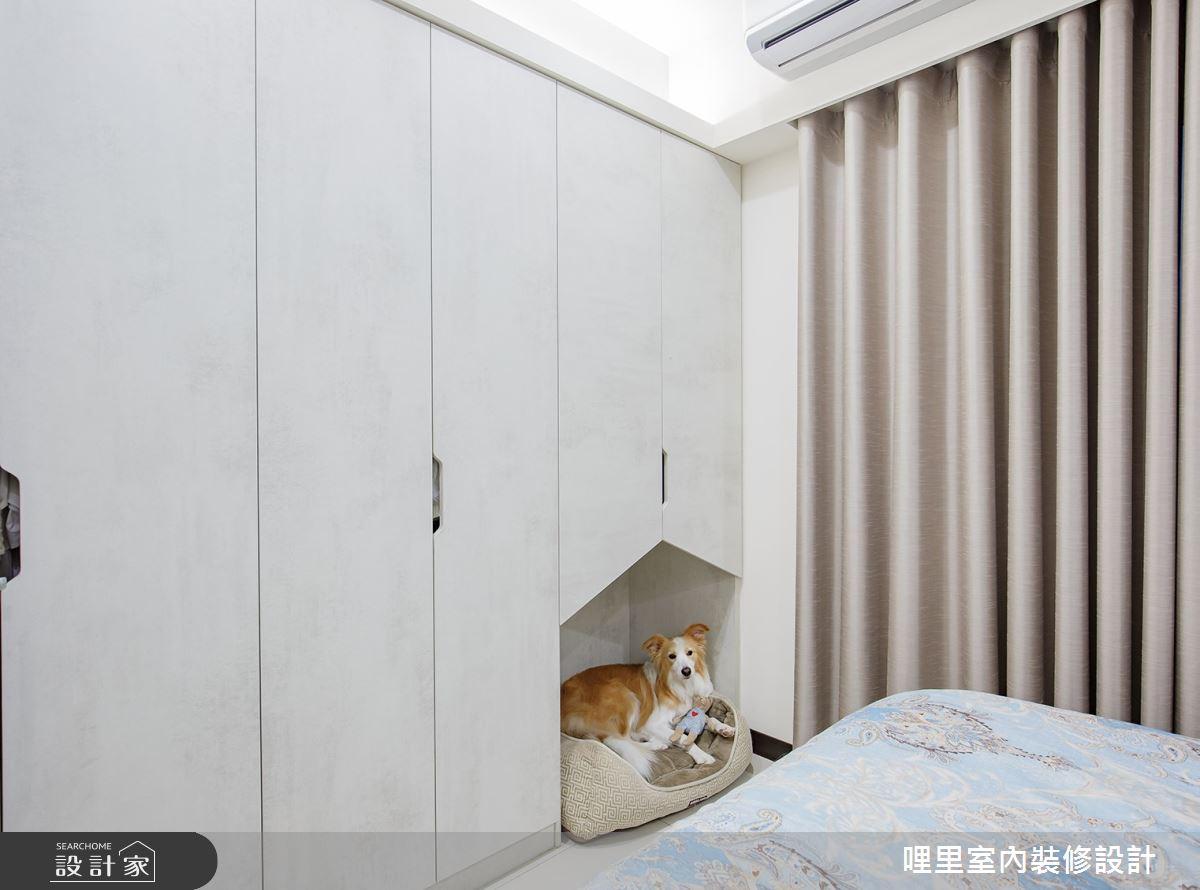 16坪預售屋_簡約風臥室案例圖片_哩里室內裝修設計有限公司_哩里_04之14