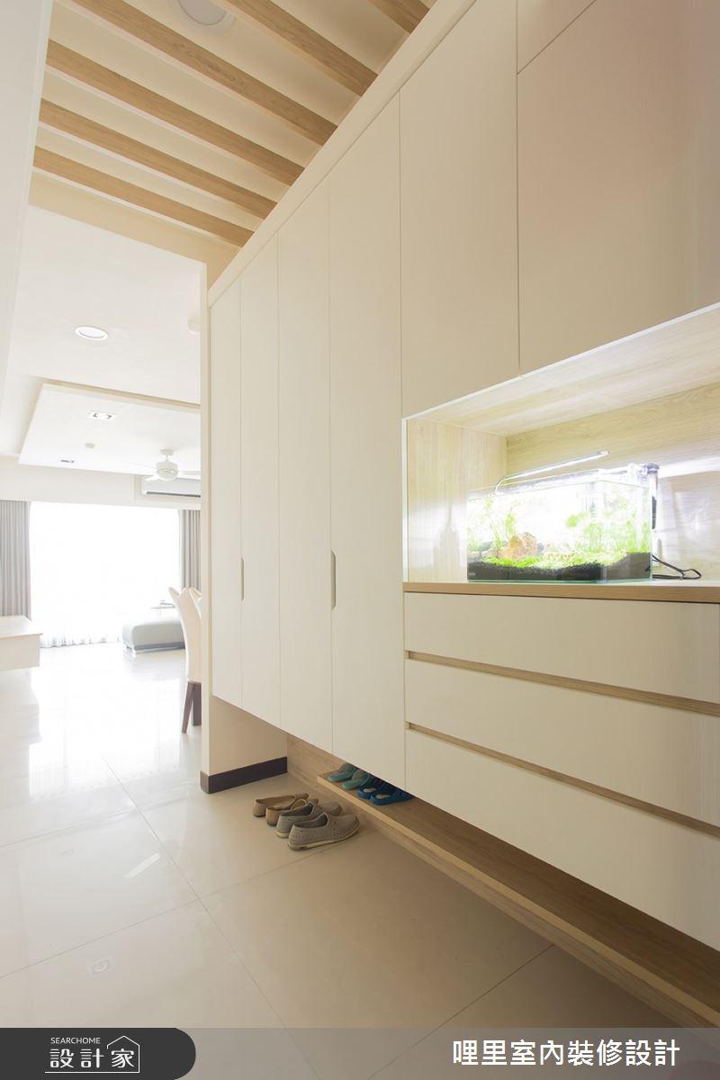 26坪預售屋_簡約風玄關案例圖片_哩里室內裝修設計有限公司_哩里_06之1