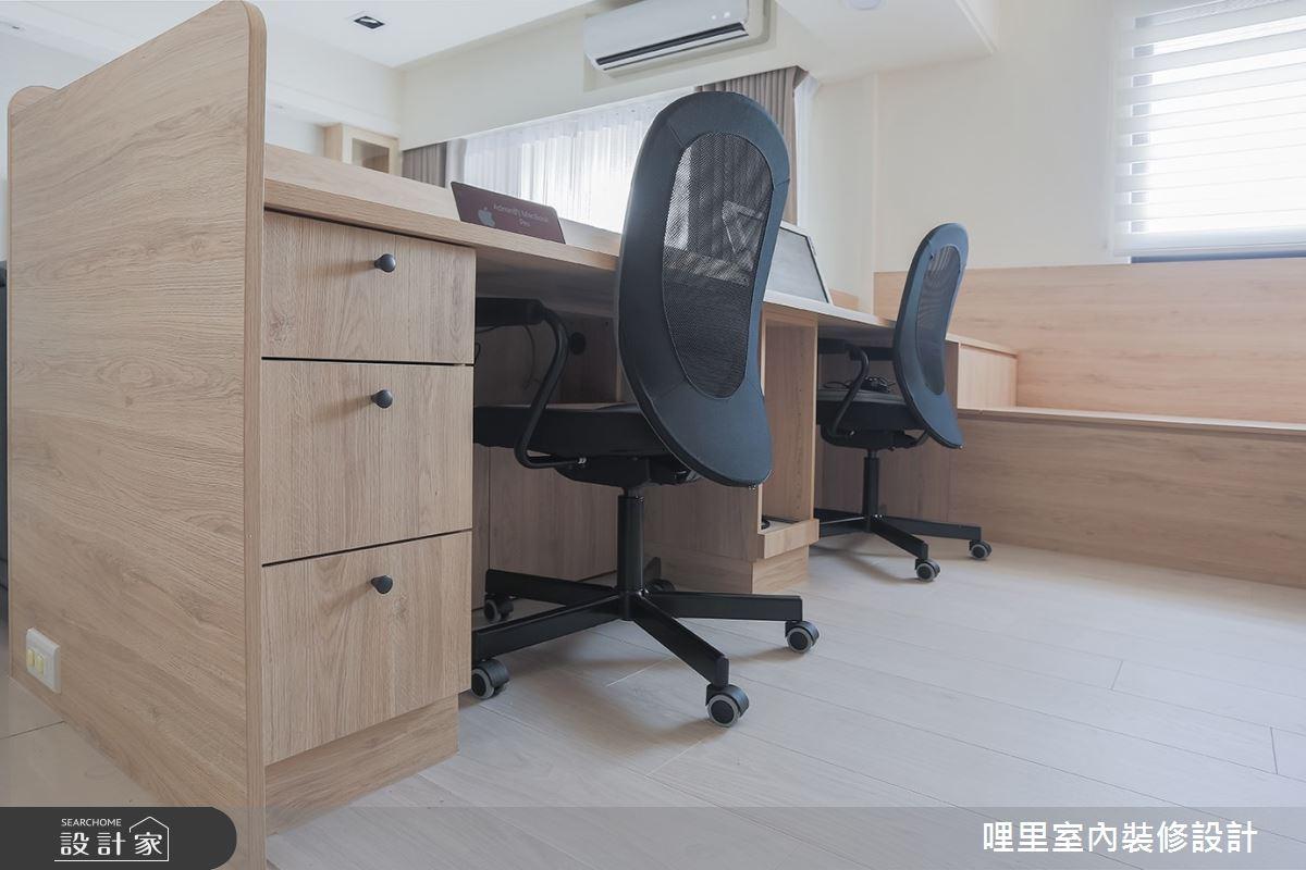 26坪預售屋_簡約風工作區案例圖片_哩里室內裝修設計有限公司_哩里_06之7