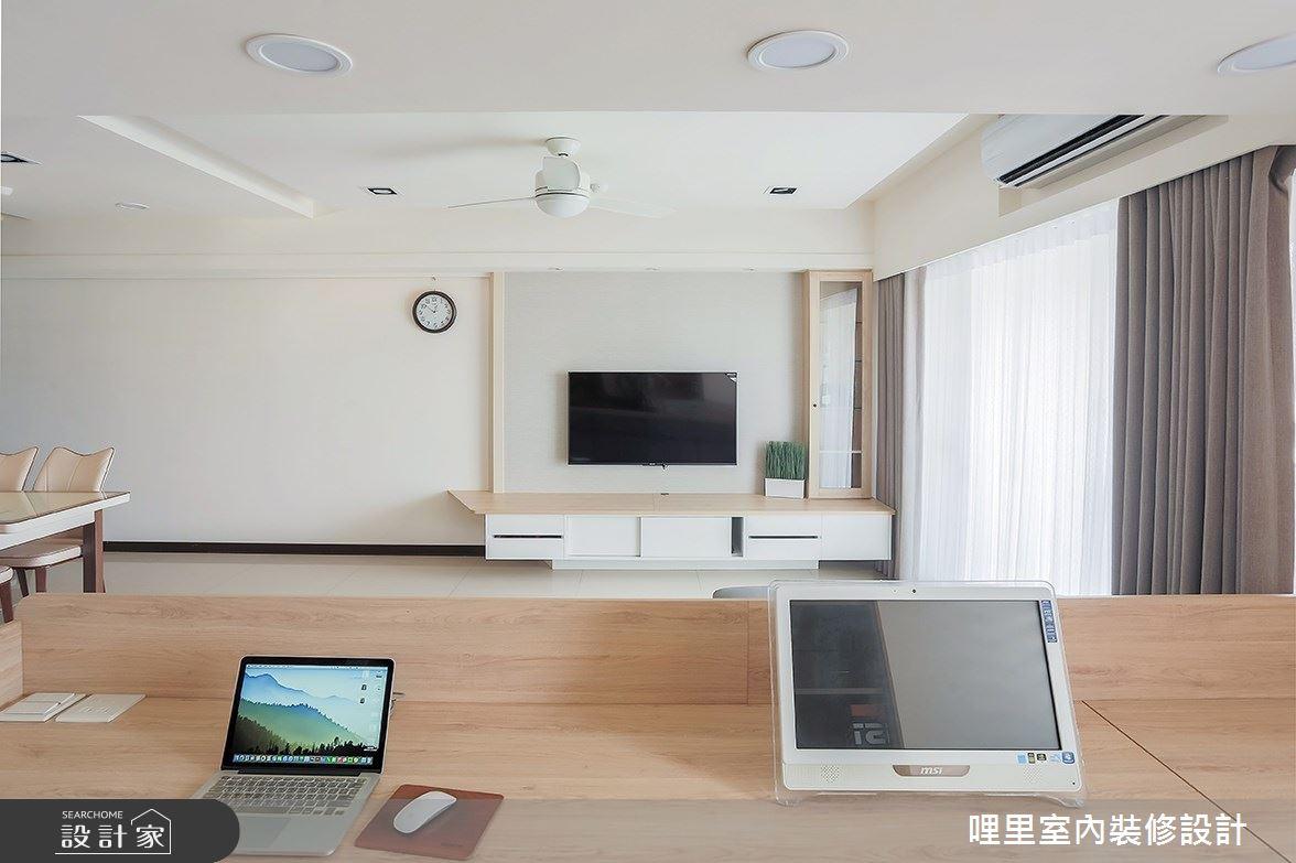 26坪預售屋_簡約風工作區案例圖片_哩里室內裝修設計有限公司_哩里_06之8