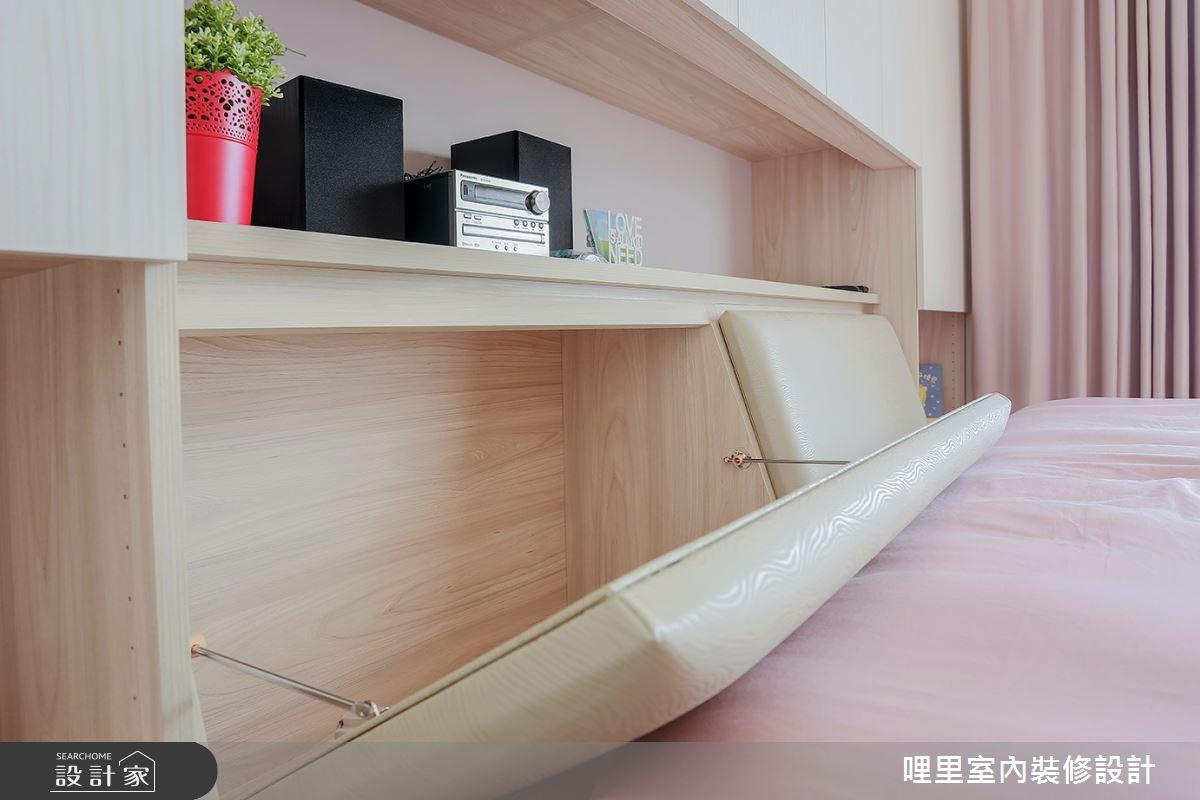 26坪預售屋_簡約風臥室案例圖片_哩里室內裝修設計有限公司_哩里_06之16