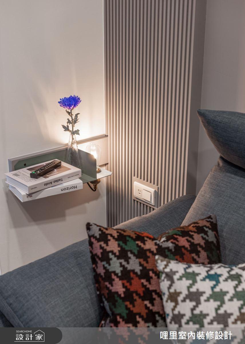 15坪新成屋(5年以下)_簡約風客廳案例圖片_哩里室內裝修設計有限公司_哩里_10之9