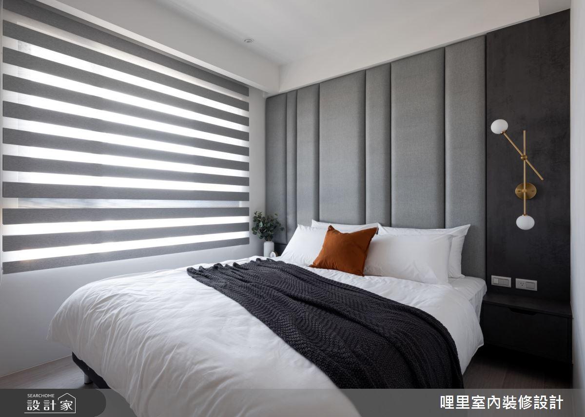 15坪新成屋(5年以下)_簡約風臥室案例圖片_哩里室內裝修設計有限公司_哩里_10之10