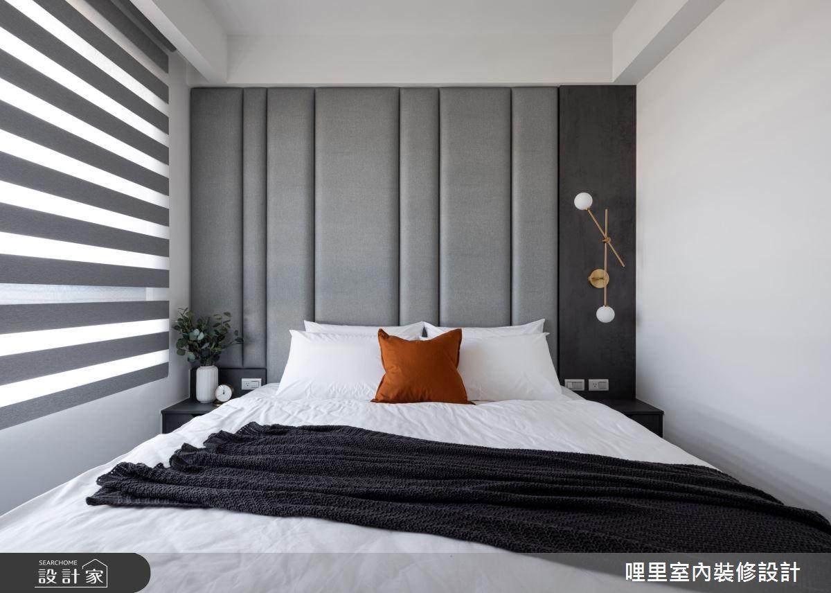 15坪新成屋(5年以下)_簡約風臥室案例圖片_哩里室內裝修設計有限公司_哩里_10之11