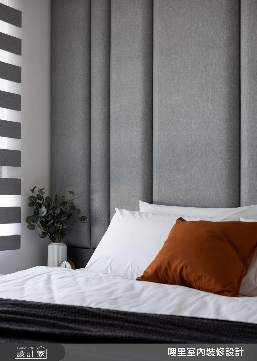 15坪新成屋(5年以下)_簡約風臥室案例圖片_哩里室內裝修設計有限公司_哩里_10之14