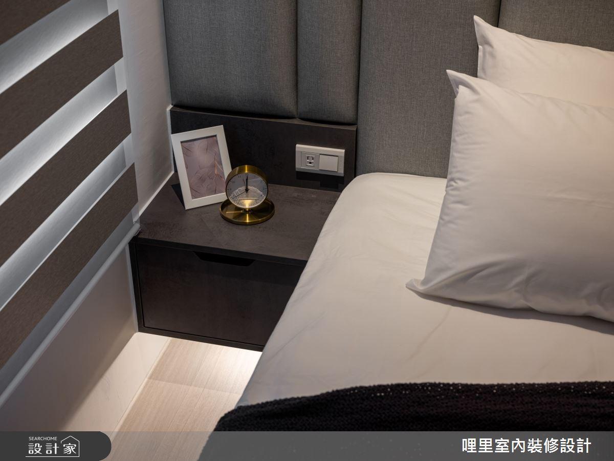 15坪新成屋(5年以下)_簡約風臥室案例圖片_哩里室內裝修設計有限公司_哩里_10之16