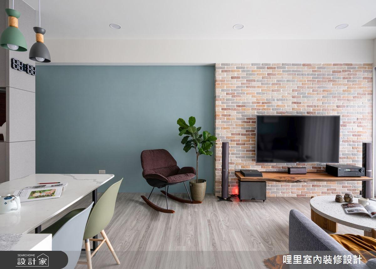 21坪新成屋(5年以下)_北歐風案例圖片_哩里室內裝修設計有限公司_哩里_11之5