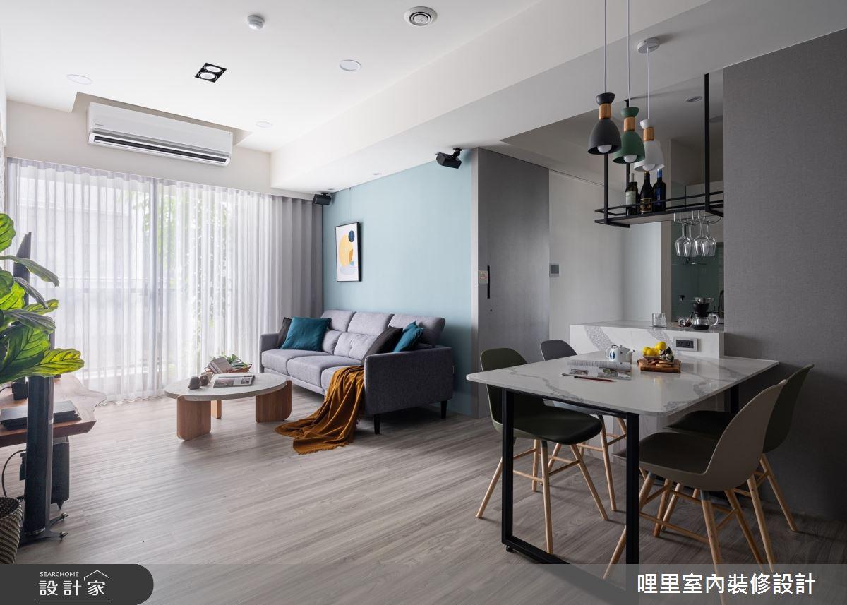 21坪新成屋(5年以下)_北歐風案例圖片_哩里室內裝修設計有限公司_哩里_11之7